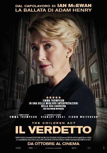 la locandina italiana del film Il Verdetto
