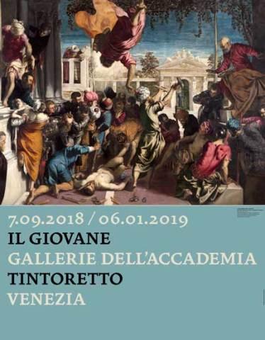 il poster della mostra Il Giovane Tintoretto alle Gallerie dell'Accademia di Venezia