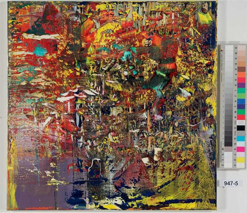 Gerhard Richter, Opera astratta, 2016