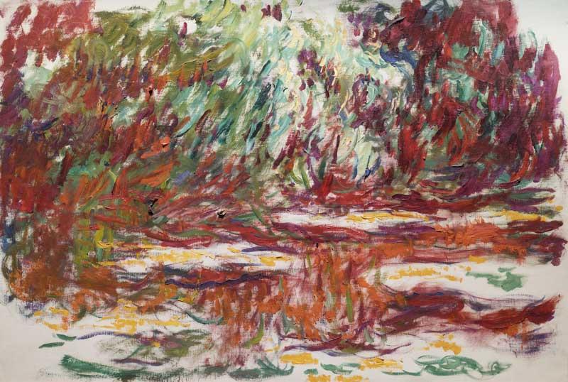 Claude Monet, Water Lily Pond, 1918-1919 - Photo: courtesy of Nexo Digital