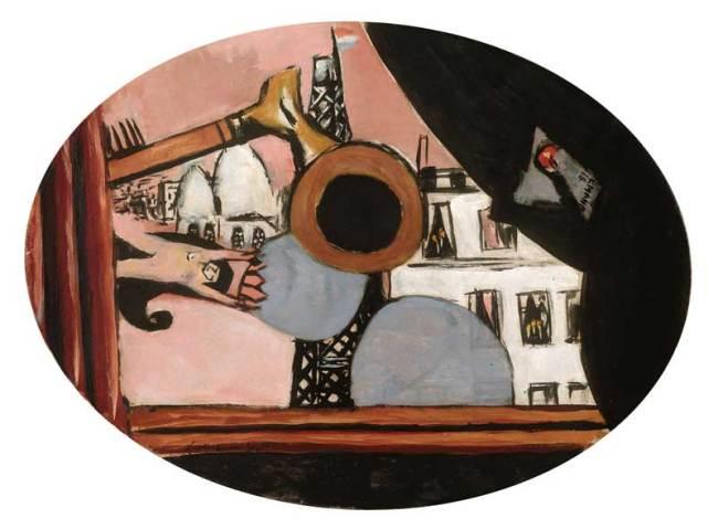 Max Beckmann, Rêve de Paris Colette, 1931