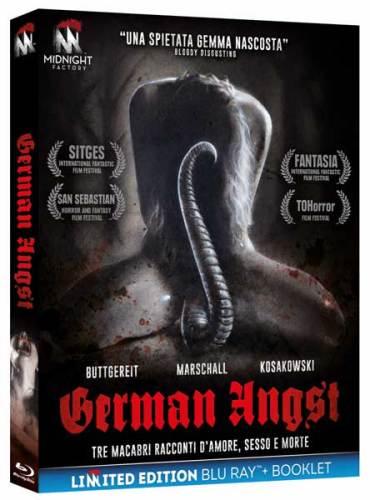 La cover del blu-ray dell'antologia horror German Angst