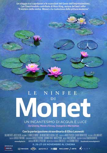 Le ninfee di Monet poster film