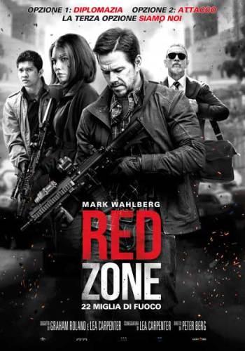 la locandina italiana del film Red Zone - 22 Miglia di Fuoco