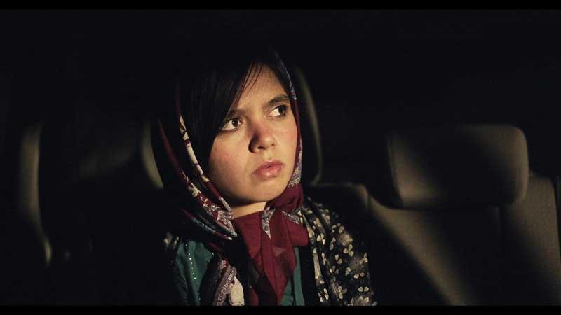 Marzieh Rezaee in una scena del film Tre Volti - Photo: courtesy of CINEMA srl