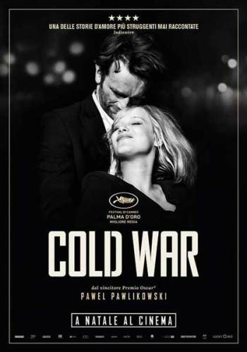 La locandina italiana del film cold war