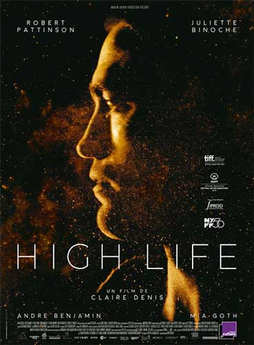 il poster del film High Life (2018)