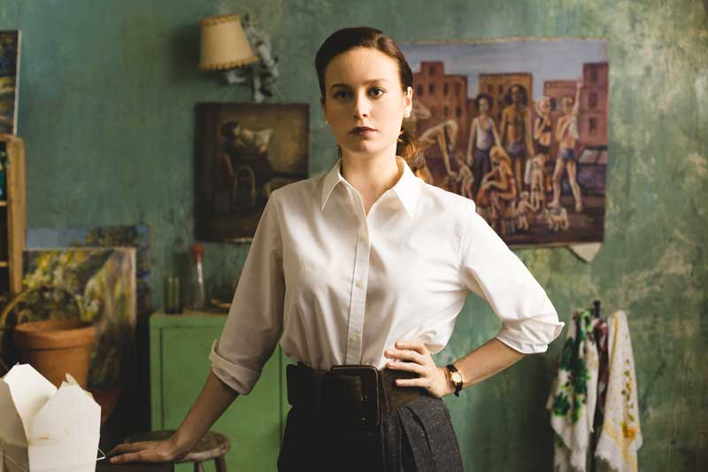 Brie Larson in una scena del film il castello di vetro - Photo courtesy of Notorious Pictures