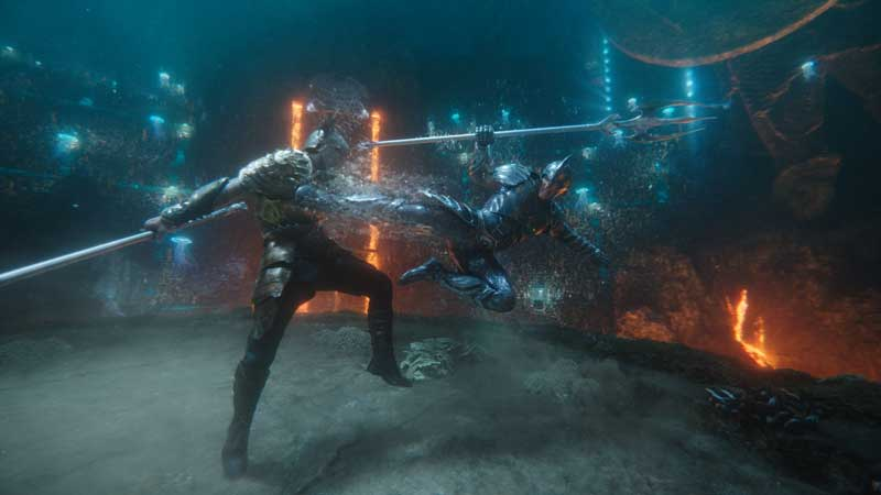 Jason Momoa è Aquaman in Aquaman. Copyright: © 2018 Warner Bros. Entertainment Inc. Photo Credit: Courtesy of Warner Bros. Pictures