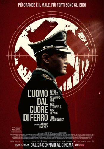 La locandina italiana del film L'uomo dal cuore di ferro