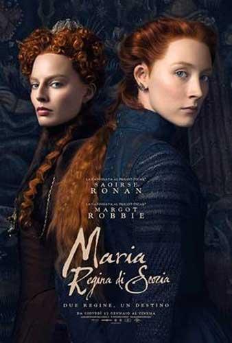 La locandina italiana del film Maria Regina di Scozia