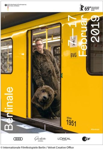 uno dei poster della Berlinale 2019 © Internationale Filmfestspiele Berlin / Velvet Creative Office