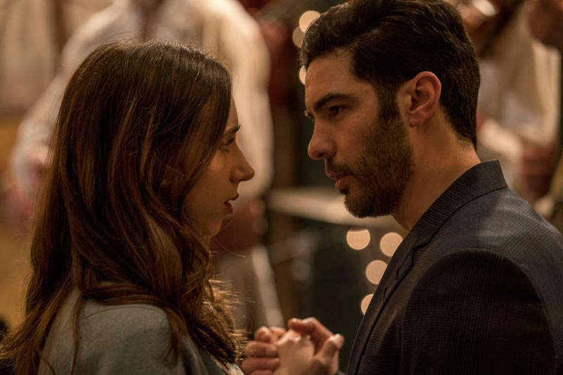Zoe Kazan e Tahar Rahim nel film The Kindness of Strangers - Photo by Per Arnesen