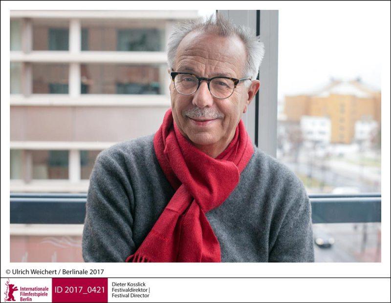 il direttore della Berlinale 2019 Dieter Kosslick