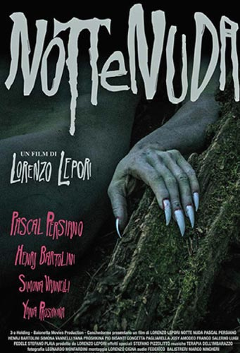 La cover del DVD dell'horror Notte Nuda