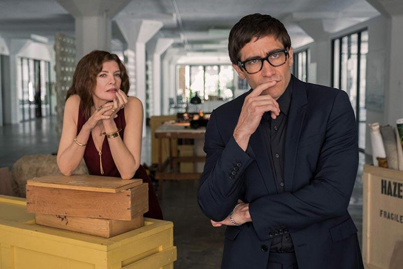 Rene Russo e Jake Gyllenhaal in una scena di Velvet Buzzsaw - Photo: Netflix