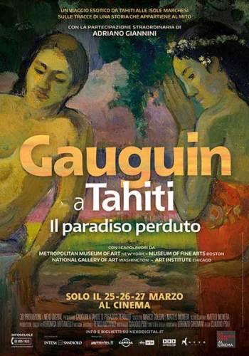 Gauguin a Tahiti poster