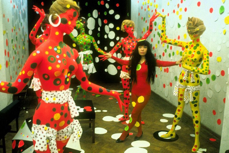 Yayoi Kusama nel periodo newyorkese (1958 - 1973) - Photo: courtesy of Wanted Cinema