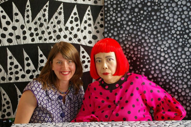 Heather Lenz e Yayoi Kusama - Photo: courtesy of Wanted Cinema