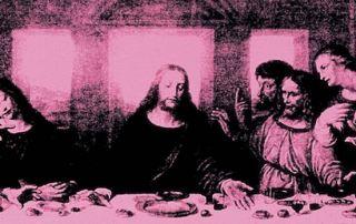 LEONARDO & WARHOL - The Last Supper di Warhol_dettaglio