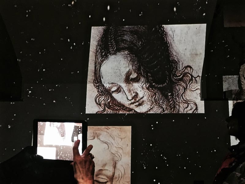 Leonardo & Warhol in Milano. The genius experience - Ph by MaSeDomani