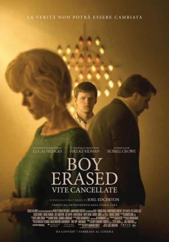Boy Erased - Vite Cancellate poster film