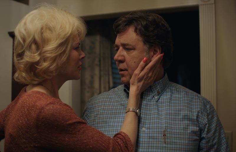 Nicole Kidman e Russell Crowe in una scena del film Boy Erased (c) 2018 UNERASED FILM, INC.