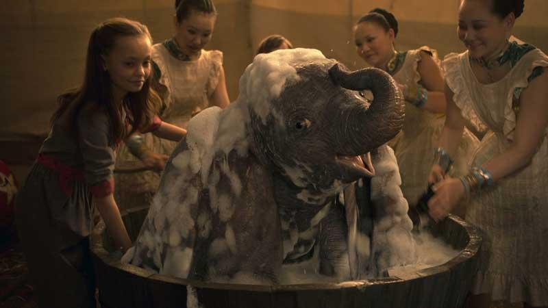 una scena del film Dumbo - Photo: courtesy of Disney Italia