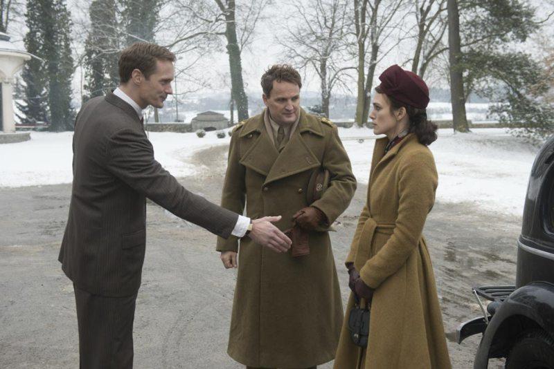 Alexander Skarsgård, Jason Clarke e Keira Knightley in una scena del film La Conseguenza - Photo: 20th Century Fox