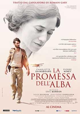 la locandina italiana del film La promessa dell'alba