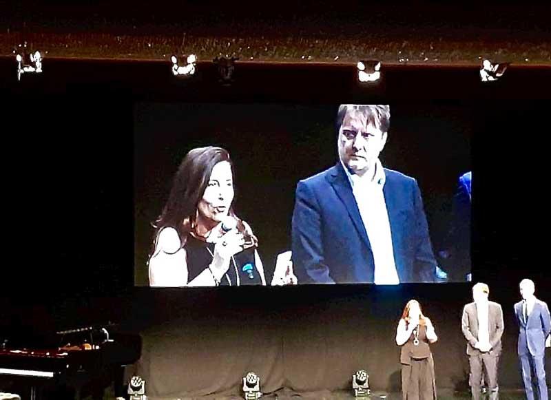 """Alessandro Milan e Alessandra Tedesco dell'associazione """"Wondy sono io"""" - Photo: Sarah Pellizzari Rabolini"""