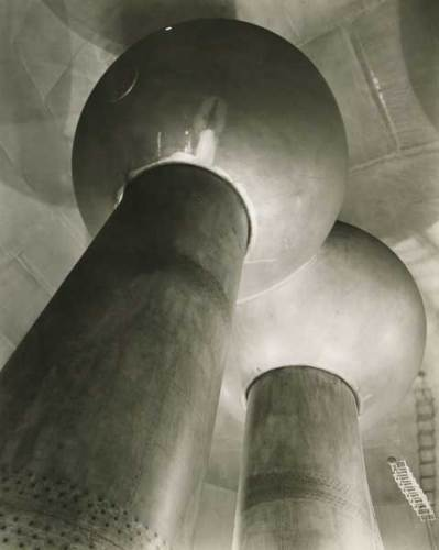 Berenice Abbott, Van De Graaff Generator, Cambridge, MA, c.1958 © Berenice Abbott/ Getty Images