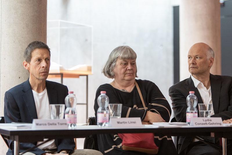 Landscape and Structures - conferenza stampa mostra - Foto di Alberto Canepa (c) USI