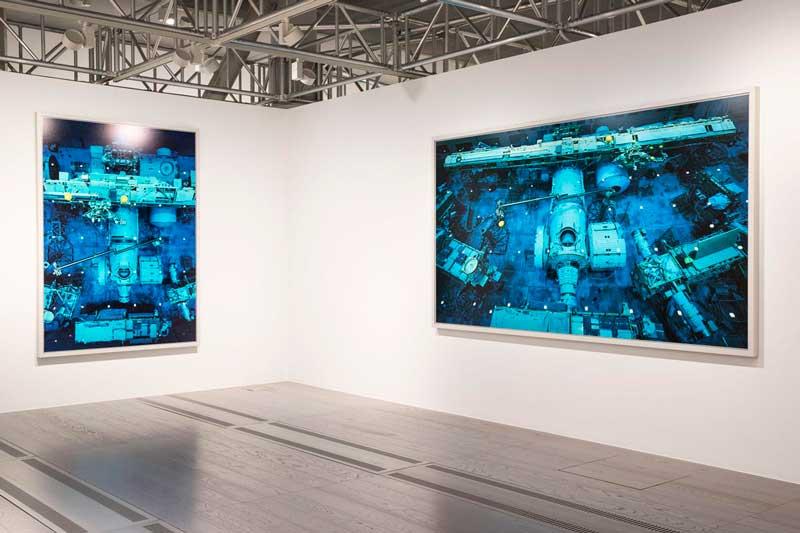 L'allestimento della mostra Nature & Politics di Thomas Struth al MAST di Bologna