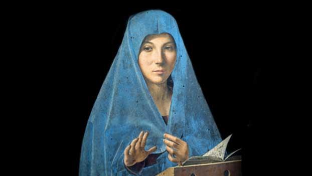 A. da Messina mostra milano icona