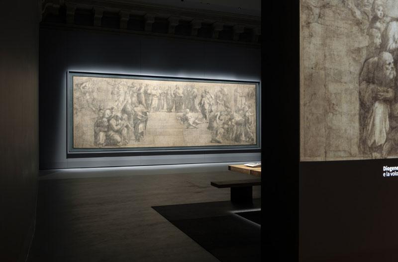 Il nuovo allestimento della Sala V in Pinacoteca Ambrosiana - Foto: Stefano Boeri Architetti (c) Paolo Rosselli