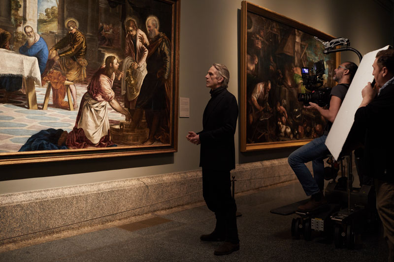 Jeremy Irons nel documentario Il Museo del Prado - Photo: courtesy of Nexo Digital