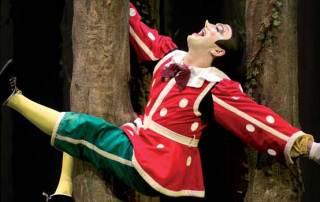 Un'immagine del musical Pinocchio - Photo: Alessandro Pinna
