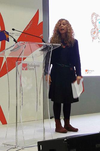 Loredana Lipperini a Bologna - Ph: Sarah Pellizzari Rabolini