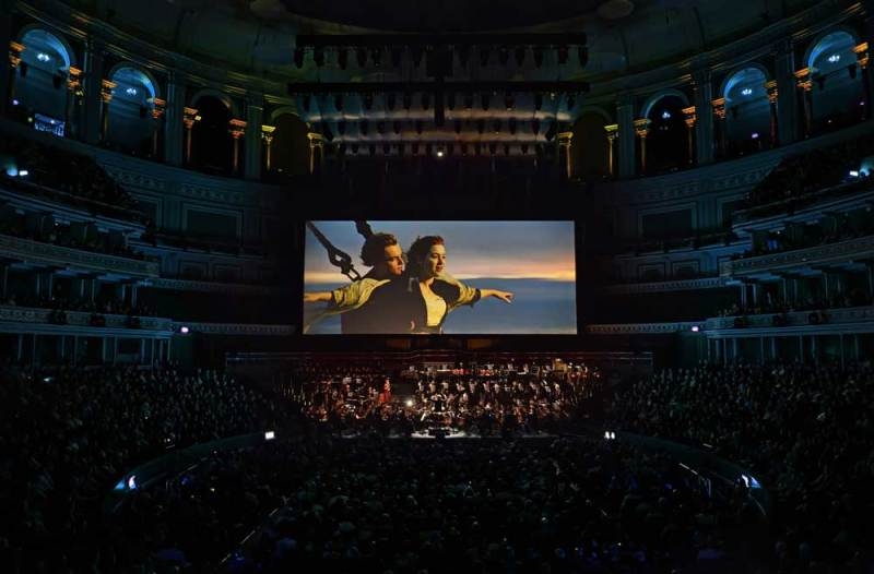 un'immagine di Titanic Live alla Royal Albert Hall - Photo © Paul Sanders