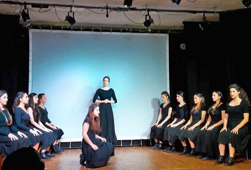 Gli allievi della scuola di musical sul palco - Photo: Sarah Pellizzari Rabolini