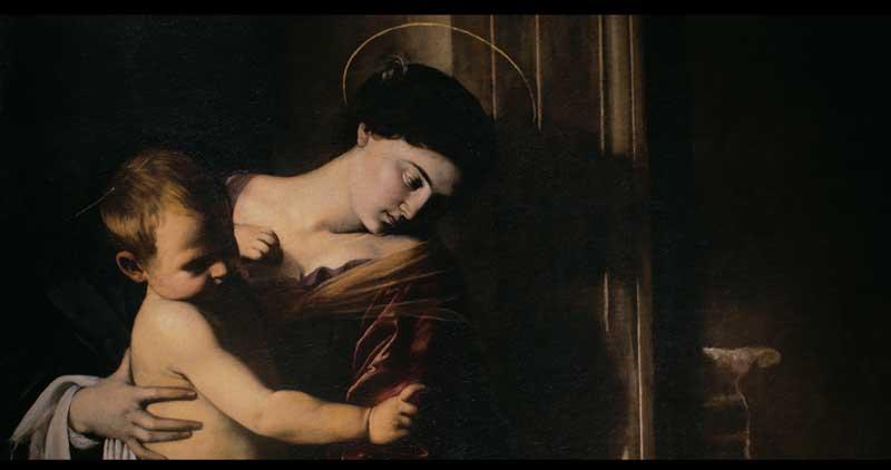 Caravaggio, Madonna dei Pellegrini - Photo: courtesy of Nexo Digital