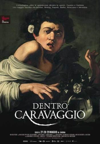 Dentro Caravaggio poster film