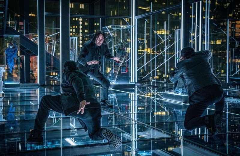 una scena del film John Wick 3 Parabellum - Photo: courtesy of Leone Film Group