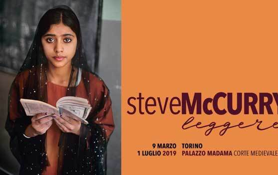 Steve McCurry Leggere banner web