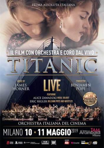 Titanic Live a Milano locandina