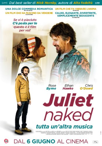 Juliet Naked poster italiano