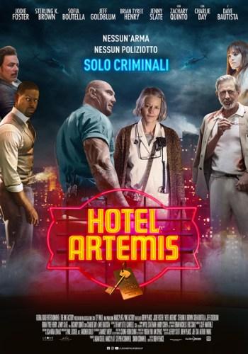 La locandina italiana del film Hotel Artemis