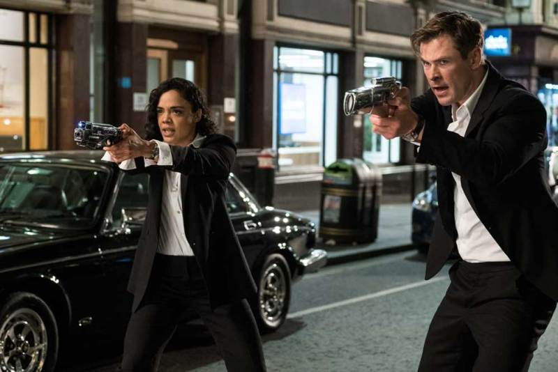 Una scena del film Men in Black - International. Photo: courtesy of Sony Pictures Italia