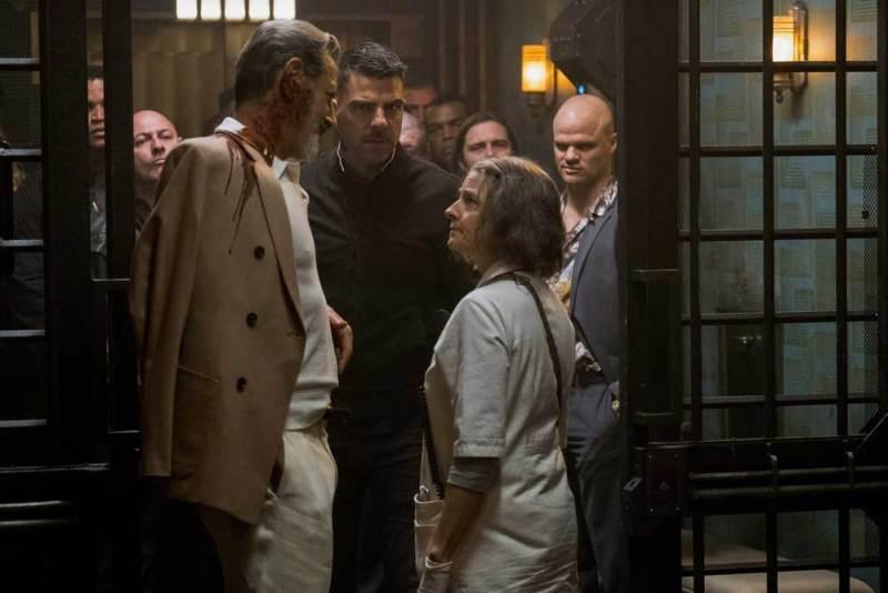 Jeff Goldblum, Zachary Quinto e Jodie Foster in una scena del film - Photo: courtesy of 01 Distribution